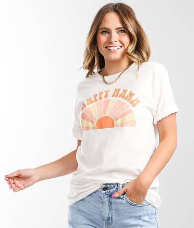 American Highway Happy Mama T-Shirt
