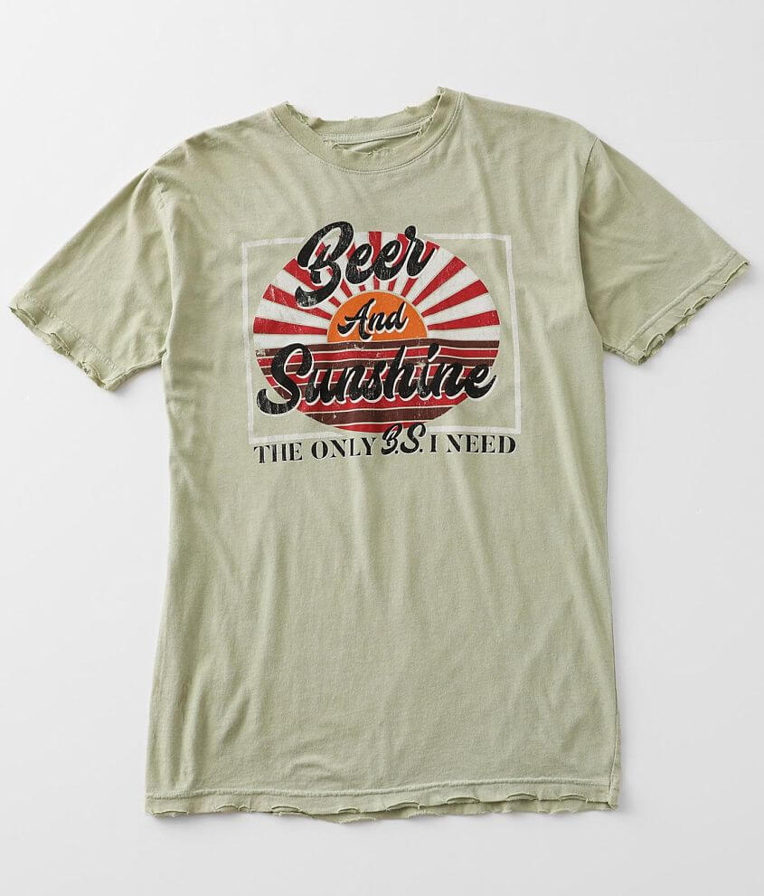 American Highway Beer & Sunshine T-Shirt front view