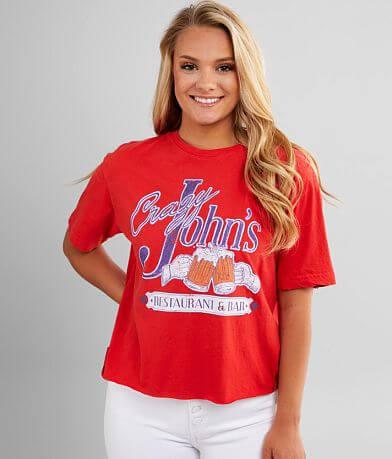 American Highway Crazy John's T-Shirt