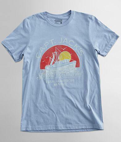 American Highway Capt. Jack's Restaurant T-Shirt