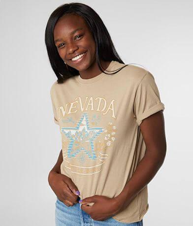 American Highway Nevada Born T-Shirt