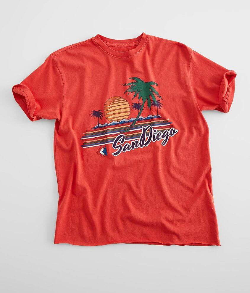 American Highway San Diego T-Shirt front view