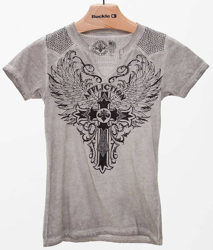 Affliction Syndic T-Shirt front view
