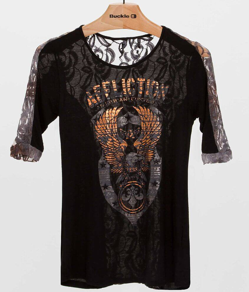 Affliction American Customs Onward Top front view