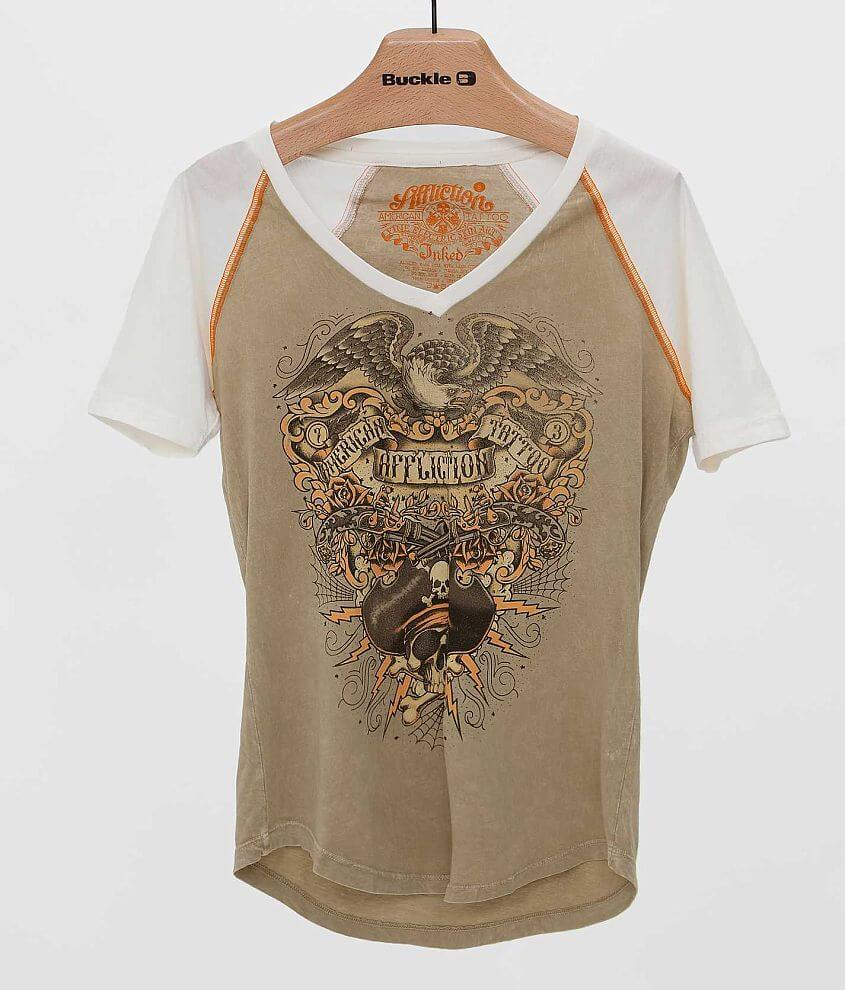 Affliction Inked Liberate T-Shirt front view