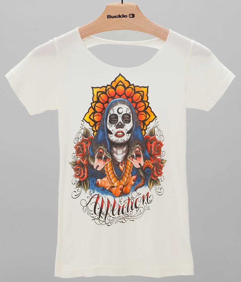 Affliction Inked Megan Massacre T-Shirt front view