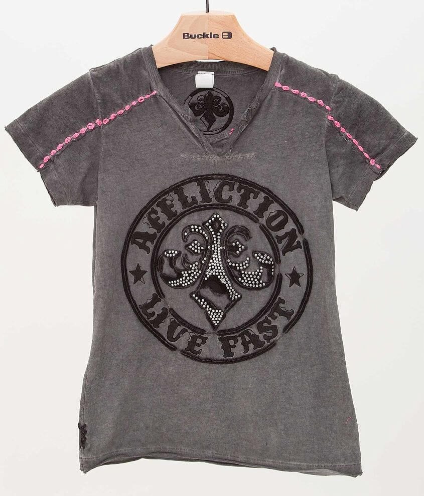 Affliction Divio Relic T-Shirt front view