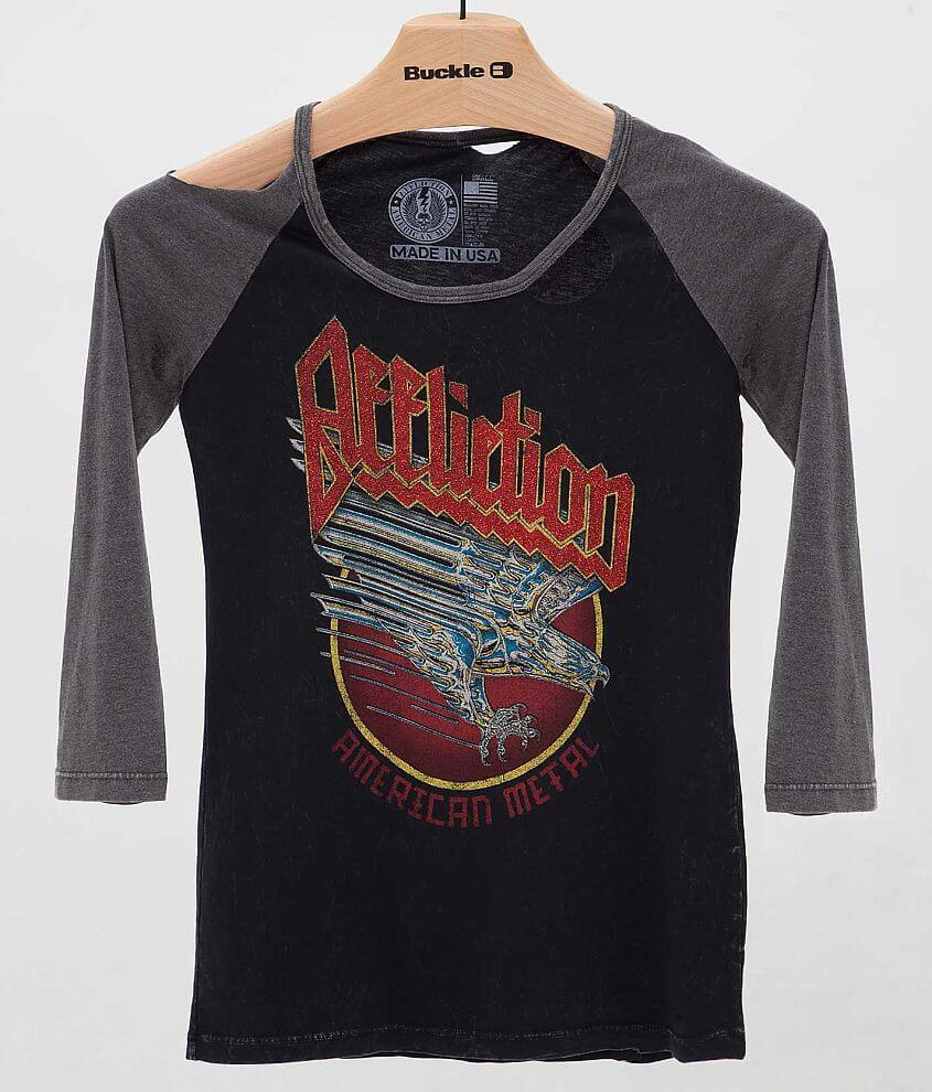 Affliction American Metal Holy Water T-Shirt front view