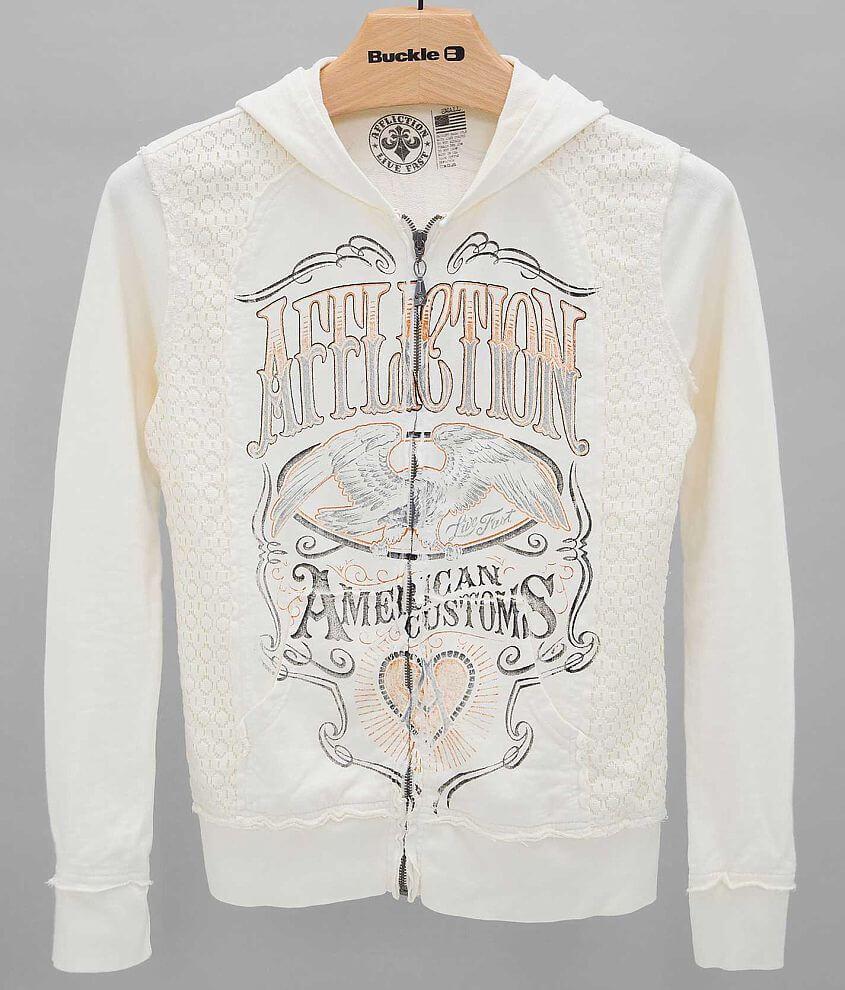 Affliction Cask Strength Sweatshirt front view