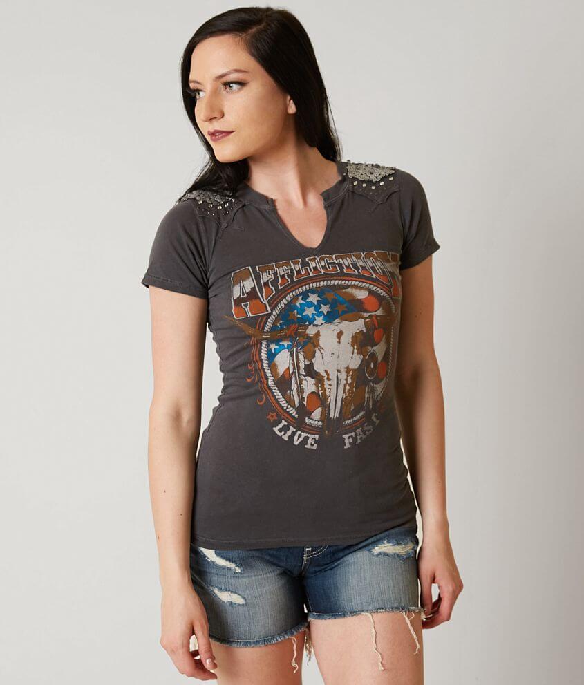 Affliction Desert Ride T-Shirt front view