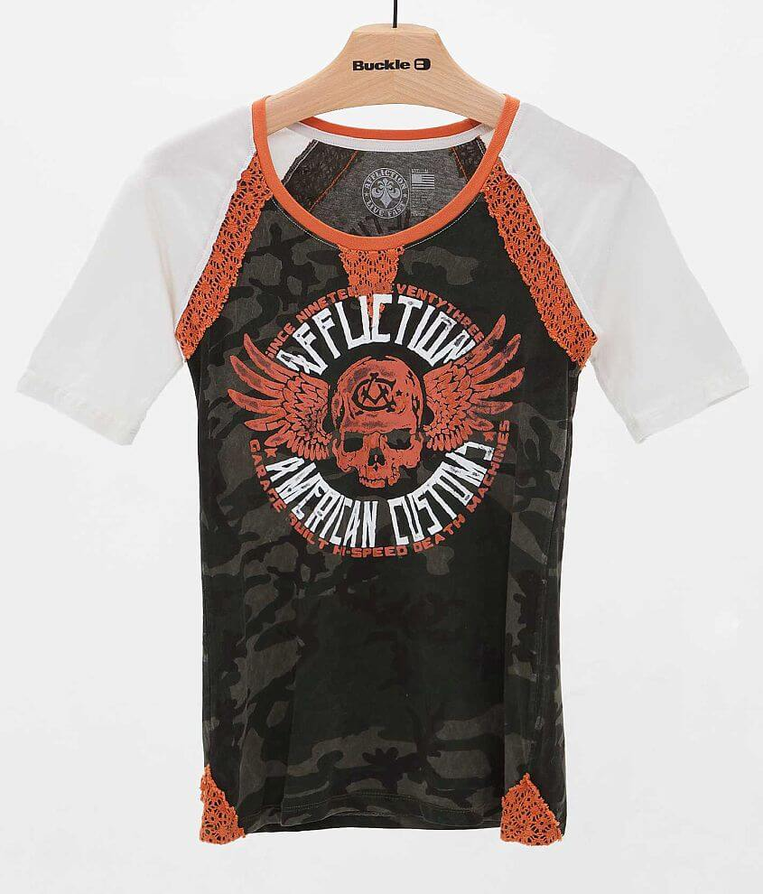 Affliction Fallout T-Shirt front view