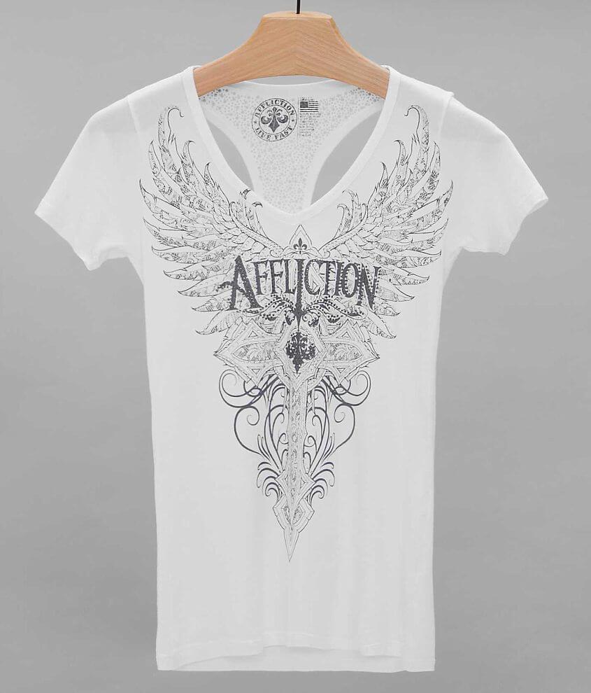 Affliction Lorielle T-Shirt front view