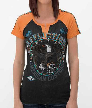 Affliction American Customs Crestfallen T-Shirt
