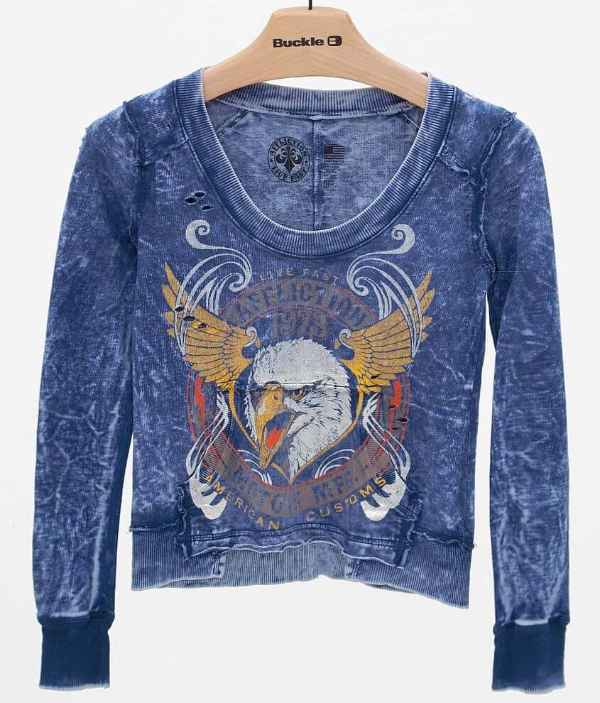 Affliction Intervention Sweatshirt front view