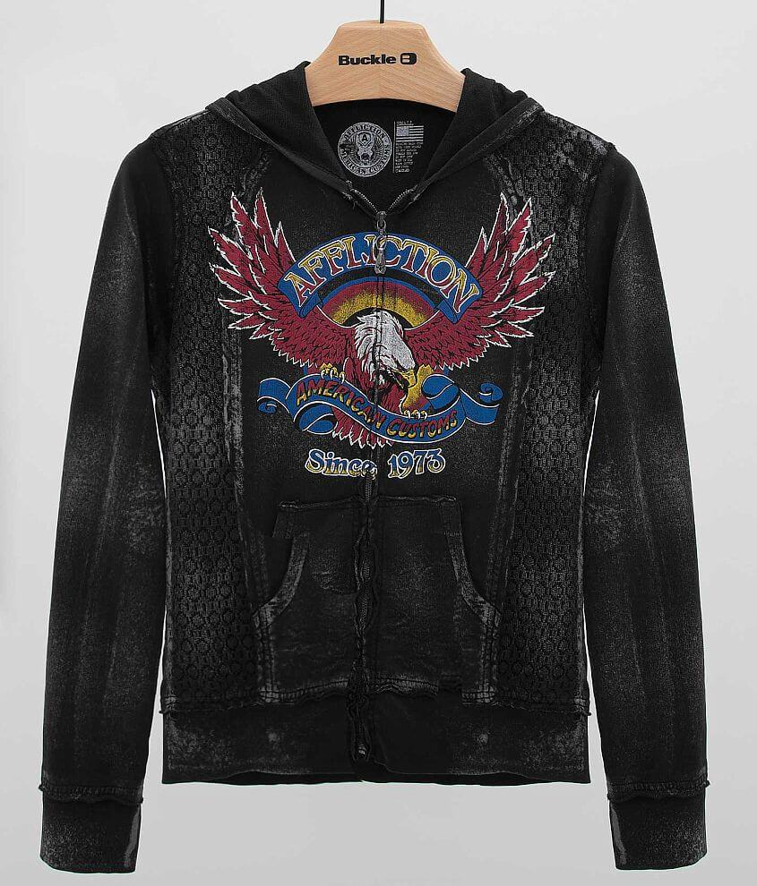 Affliction Eagle Clutch Sweatshirt front view