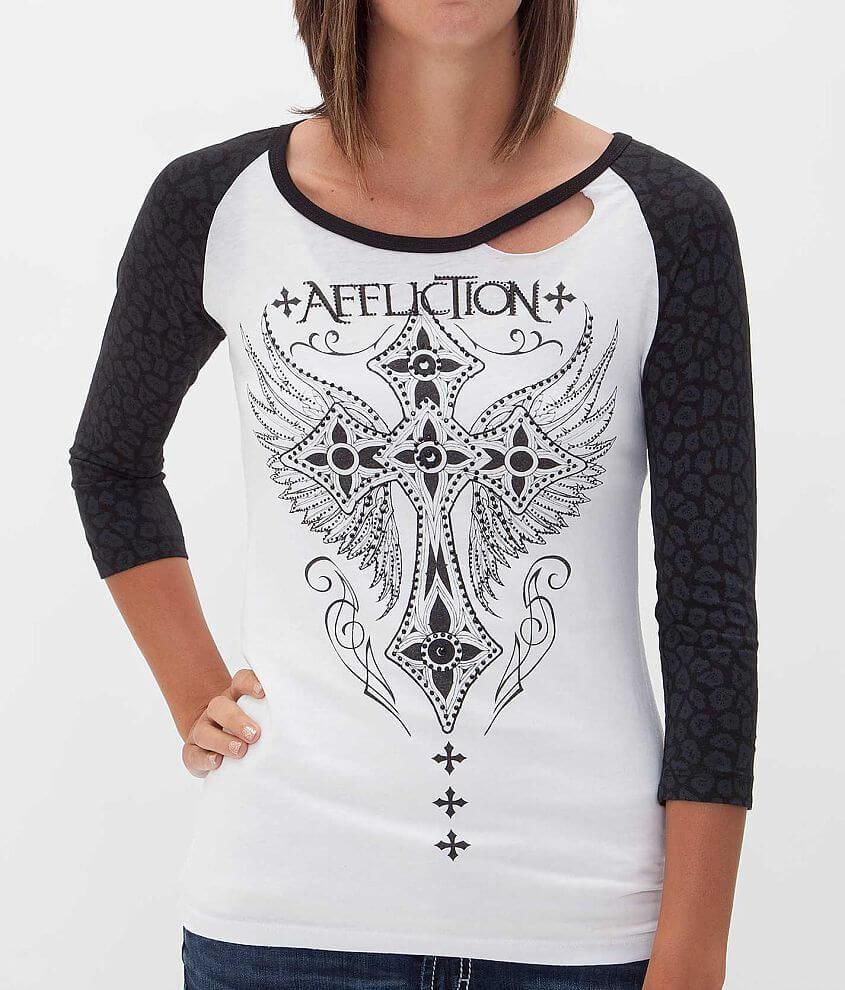 Affliction Hot Spot T-Shirt front view