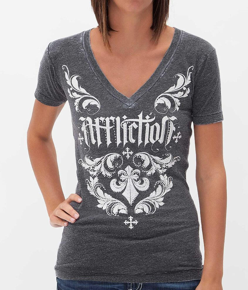 Affliction Chantilly T-Shirt front view