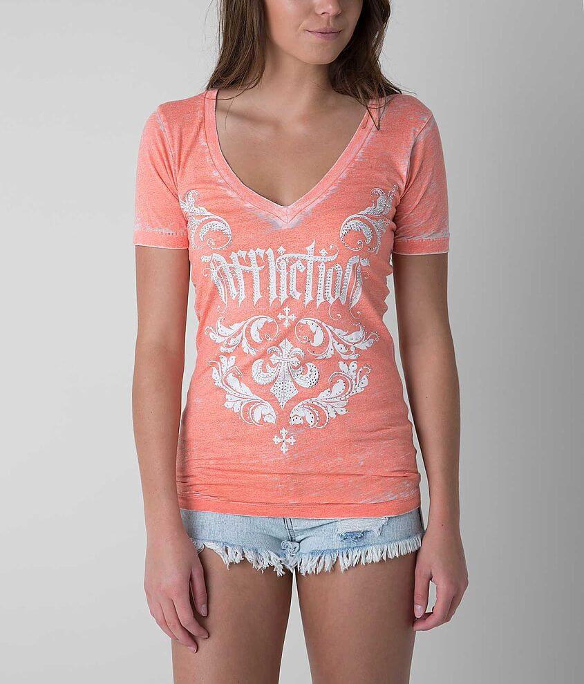 Affliction Chantilly Top front view