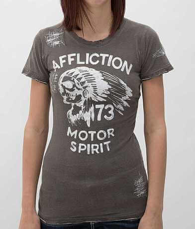Affliction American Customs No Luck Chiefs T-Shirt