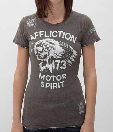 Affliction American Customs No Luck Chiefs T-Shirt