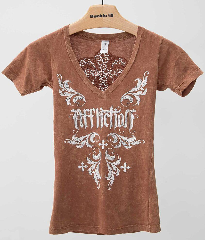 Affliction Jocelyn T-Shirt front view