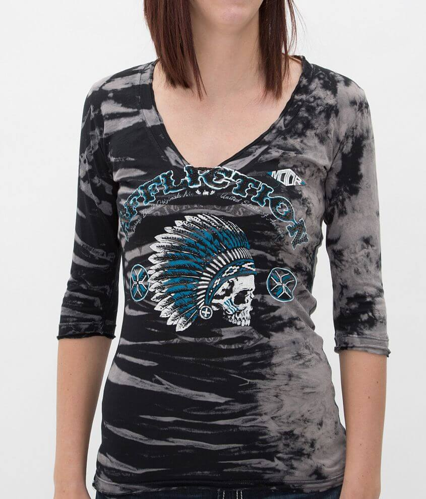 Affliction American Customs Arrow T-Shirt front view