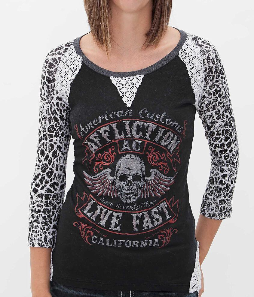 Affliction Inquisition T-Shirt front view