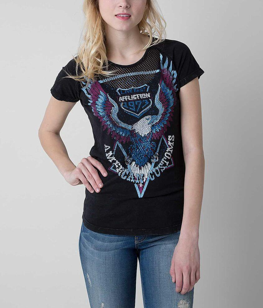 Affliction American Customs High Beams T-Shirt front view