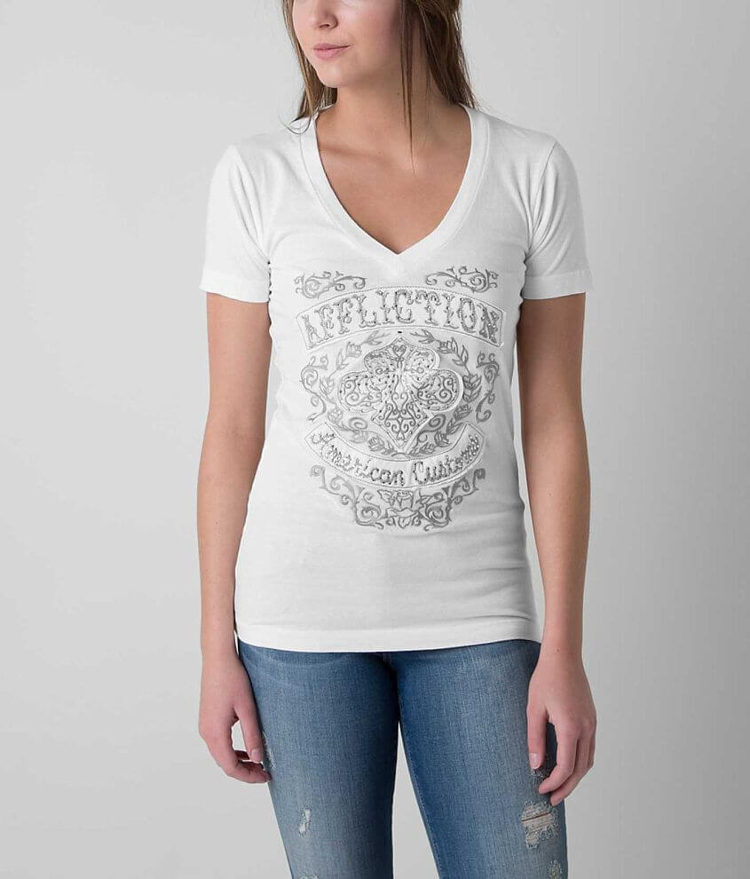 Affliction Suzette T-Shirt front view