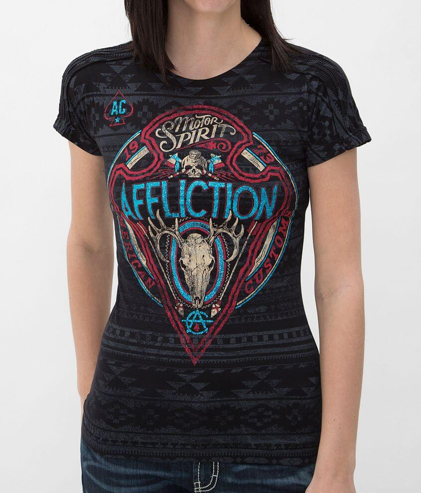 Affliction Hunt T-Shirt front view