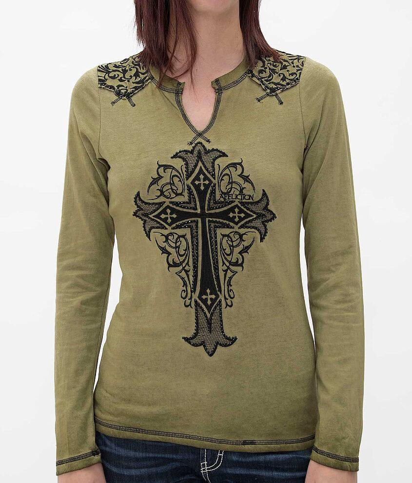 Affliction Isabella Top front view
