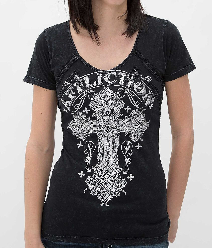 Affliction Versailles T-Shirt front view