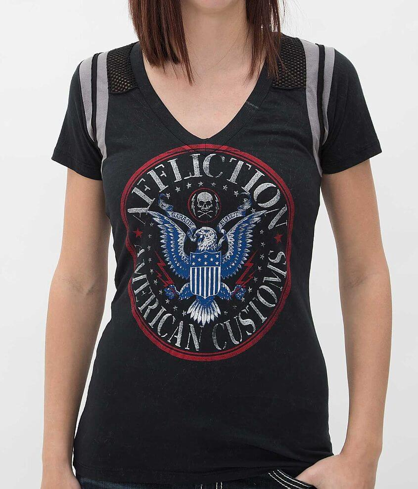 Affliction American Customs Hey Ho T-Shirt front view