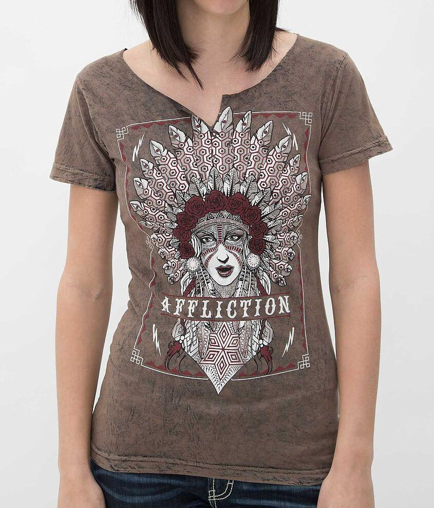 Affliction Tribes T-Shirt front view