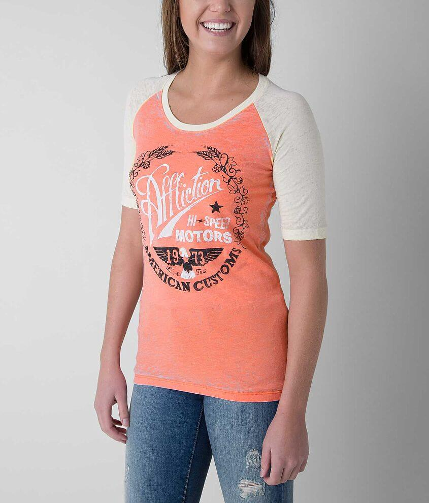 Affliction American Customs Fast Times T-Shirt front view