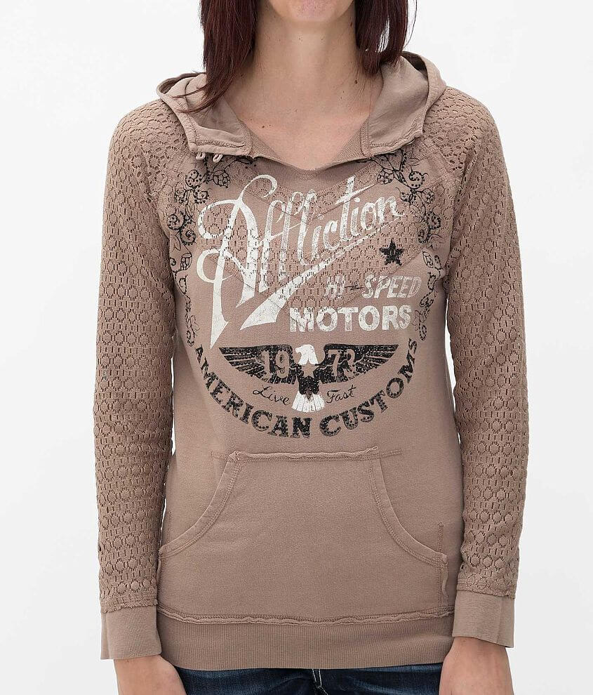 Affliction American Customs Fast Times Sweatshirt front view