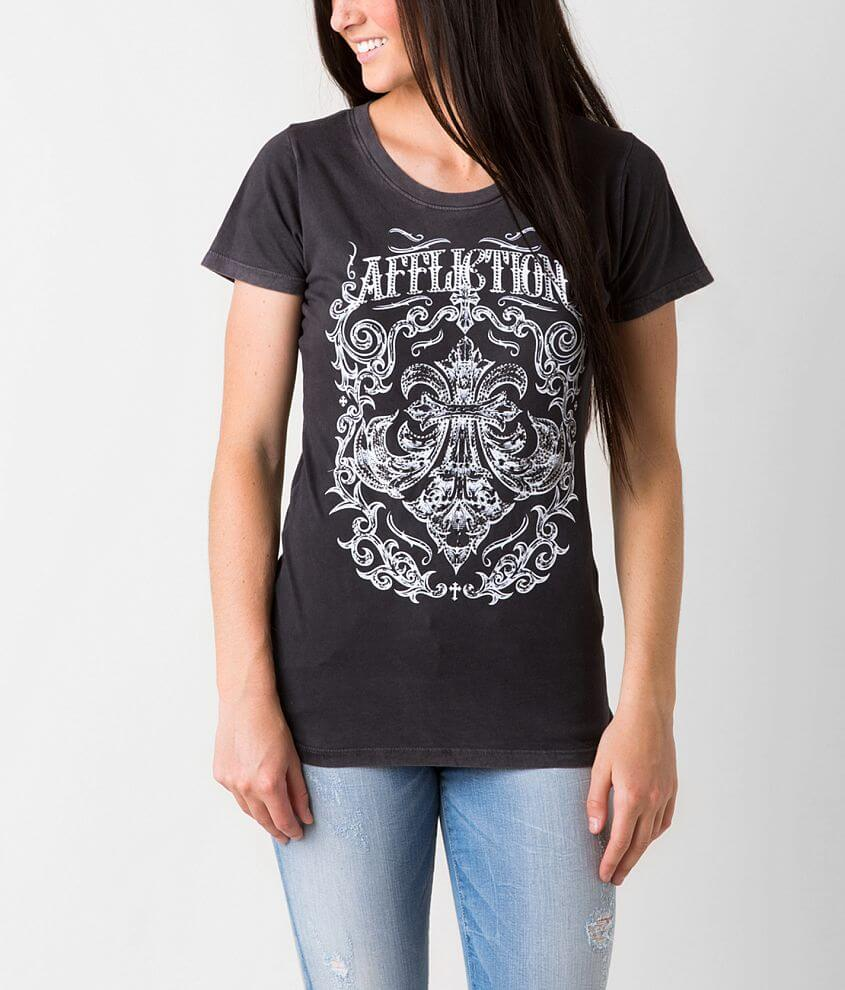 Affliction Procession T-Shirt front view