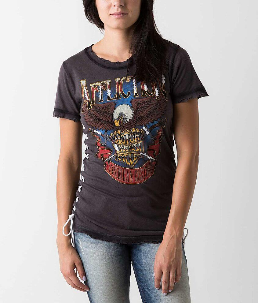 Affliction American Customs Sky Rider T-Shirt front view