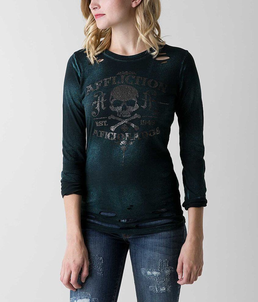 Affliction Hit T-Shirt front view