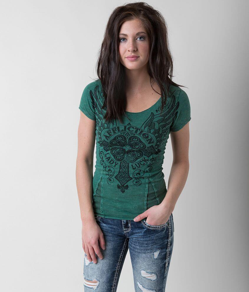 Affliction Lady Luck Top front view