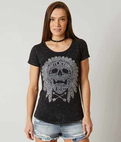 Affliction American Customs Native Tongue T-Shirt