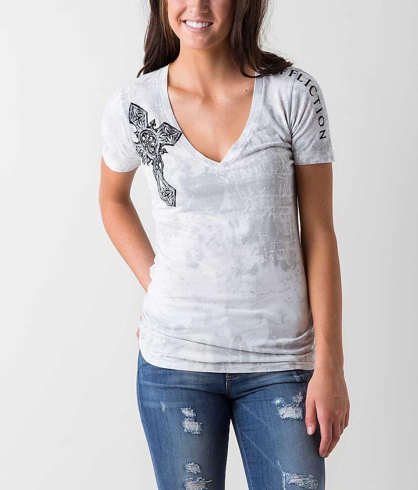 Affliction Spiker T-Shirt front view