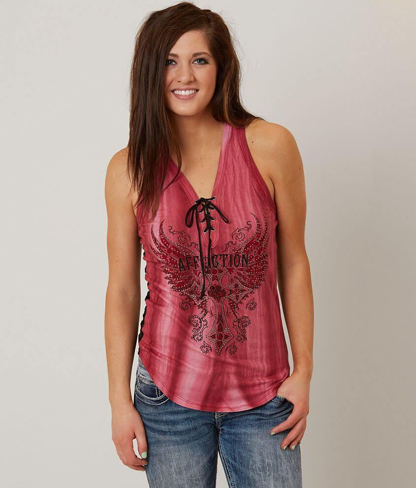 Affliction Margo Tank Top front view
