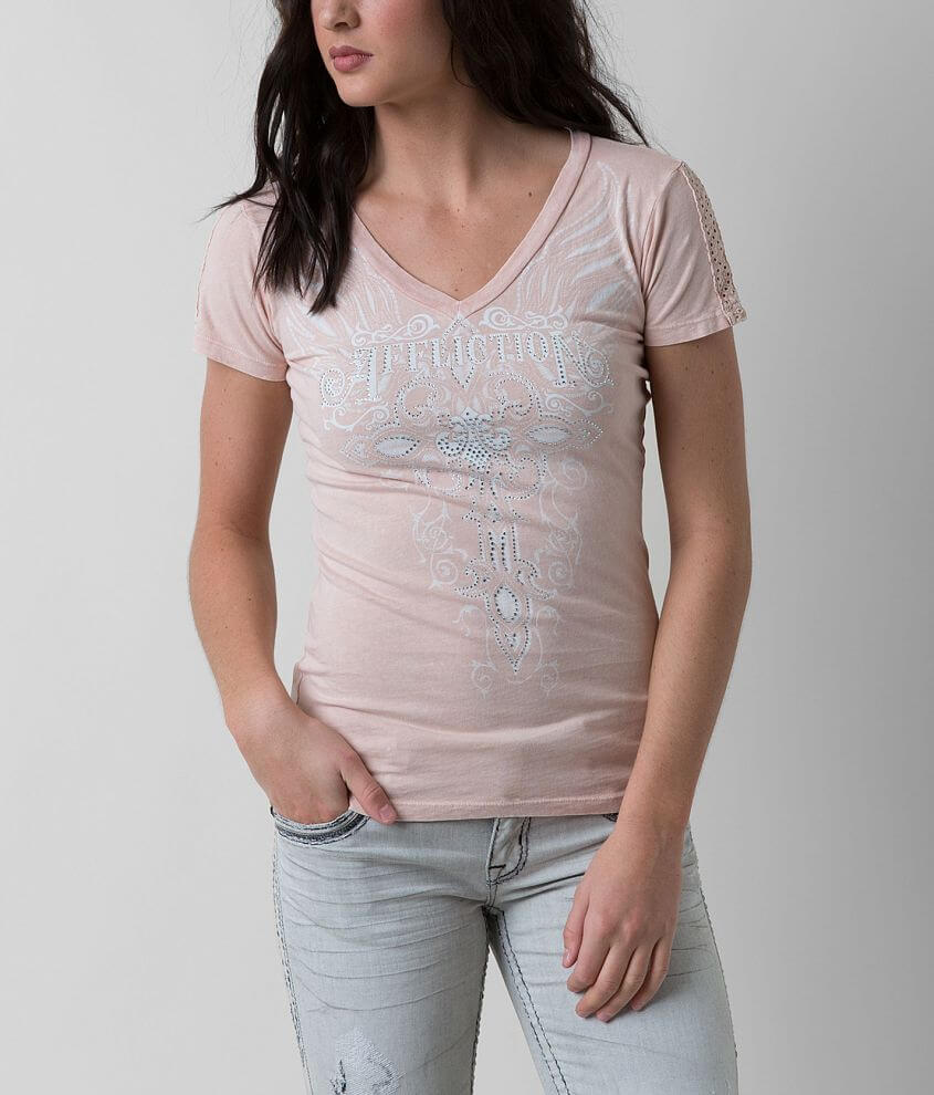 Affliction Angelica Top front view
