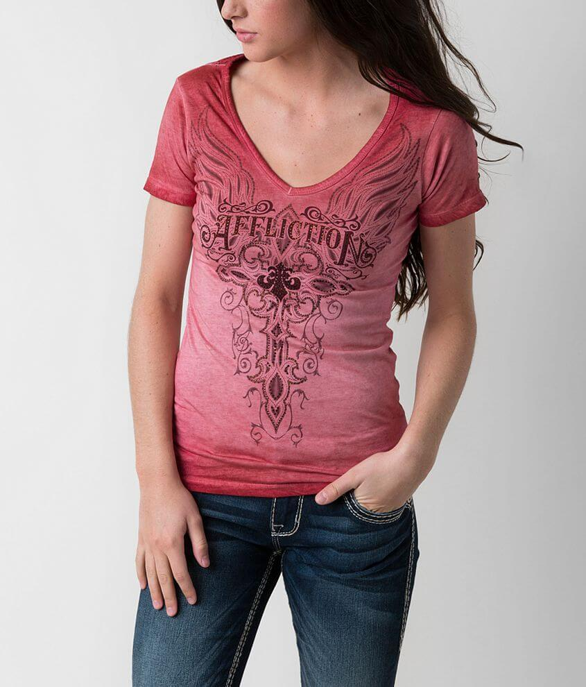 Affliction Angelica T-Shirt front view