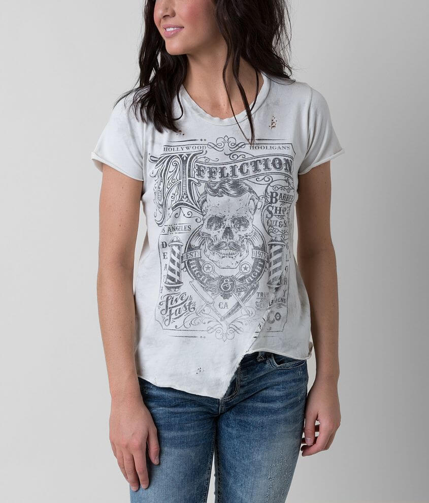 Affliction The Barber T-Shirt front view