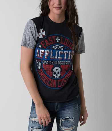 Affliction American Customs Volume T-Shirt
