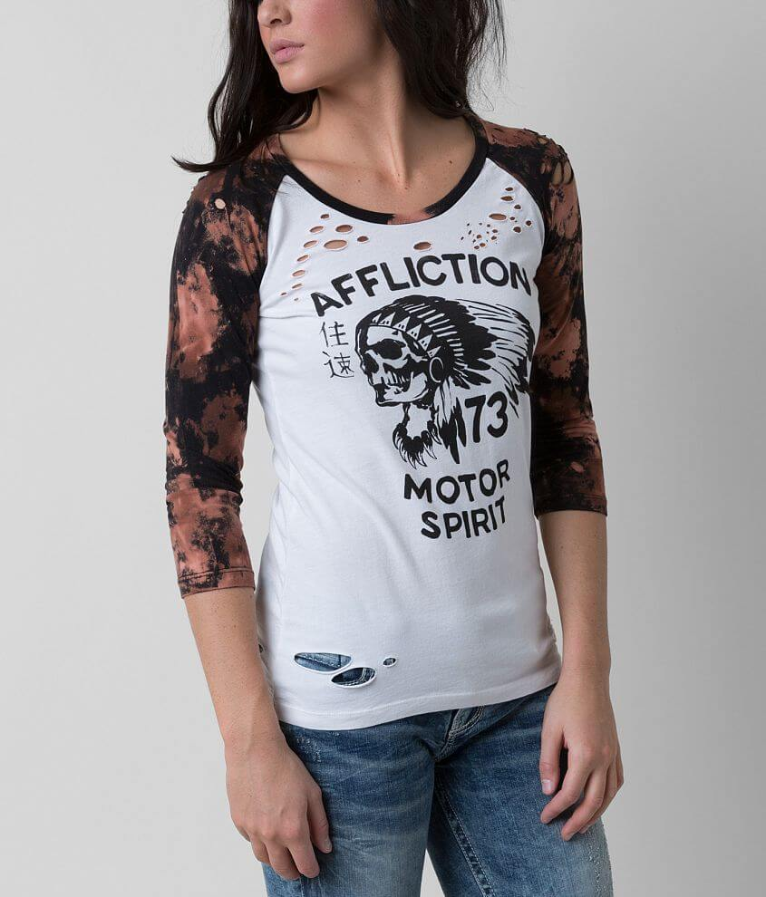 Affliction No Luck T-Shirt front view