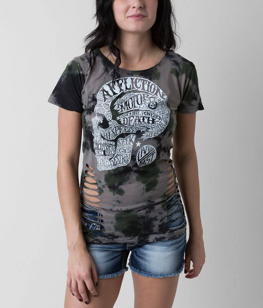 Affliction Motor Head T-Shirt front view