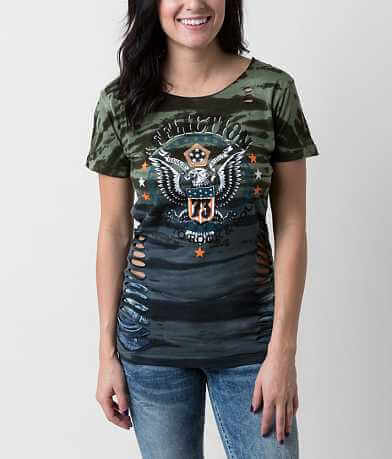 Affliction American Customs Born To Rock T-Shirt